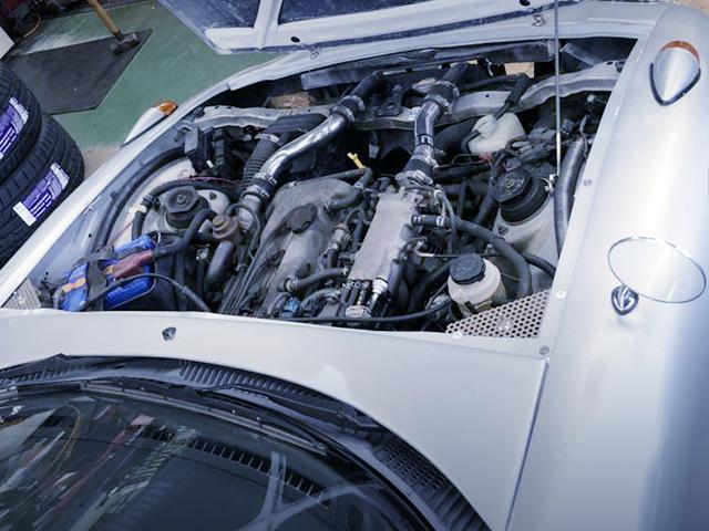 K6A TWINCAM TURBO ENGINE.