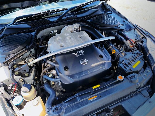 VQ35DE 3500cc V6 NATURALLY ASPIRATED ENGINE.