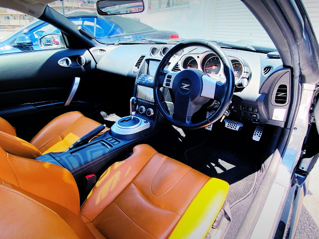 DRIVER'S INTERIOR OF Z33 FAIRLADY Z Ver ST.