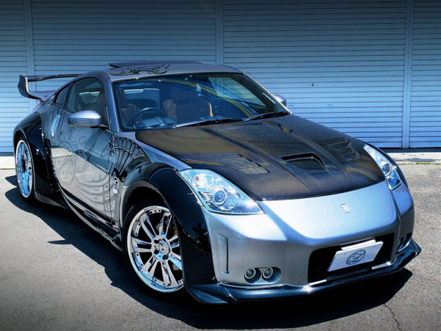 FRONT EXTERIOR OF Z33 FAIRLADY Z Ver ST.