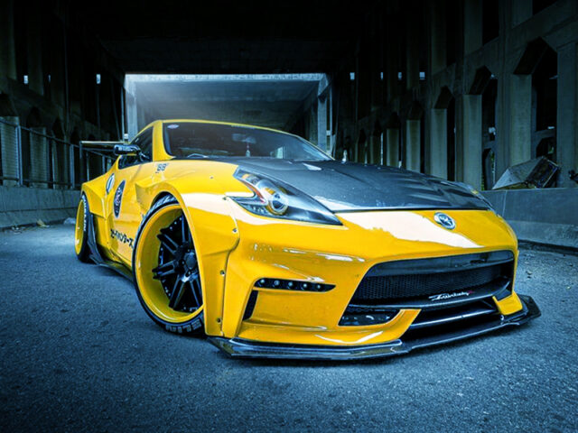 FRONT EXTERIOR OF Z34 NISSAN 370Z.