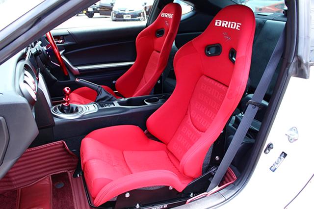 BRIDE BUCKET SEATS.