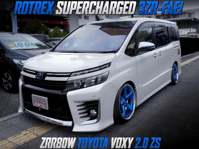 ROTREX SUPERCHARED ZRR80W VOXY ZS.
