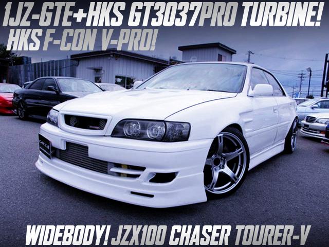 HKS GT3037PRO TURBOCHARGED JZX100 CHASER TOURER-V.
