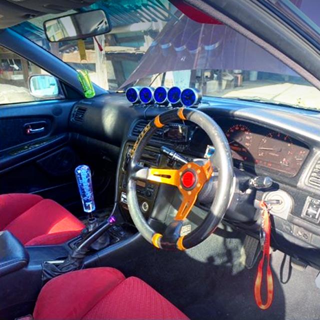 DRIVER'S INTERIOR of JZX100 CHASER TOURER-V.