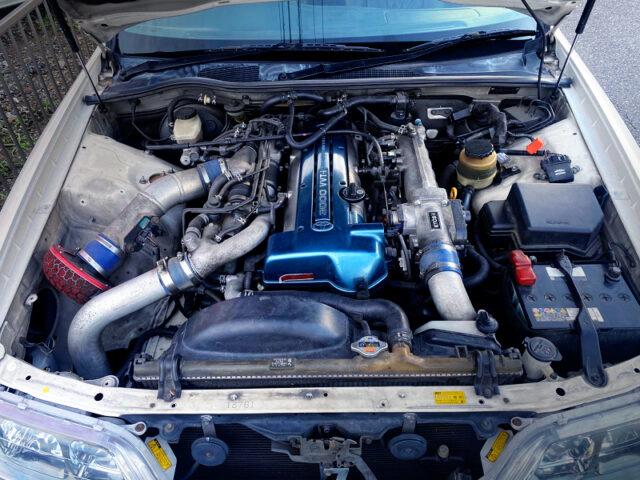 3.0L VVTi TWIN TURBOCHARGED 2JZ-GTE ENGINE.