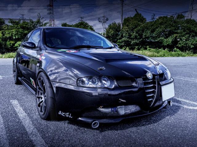 FRONT EXTERIOR of ALFA ROMEO 147 GTA SELESPEED.