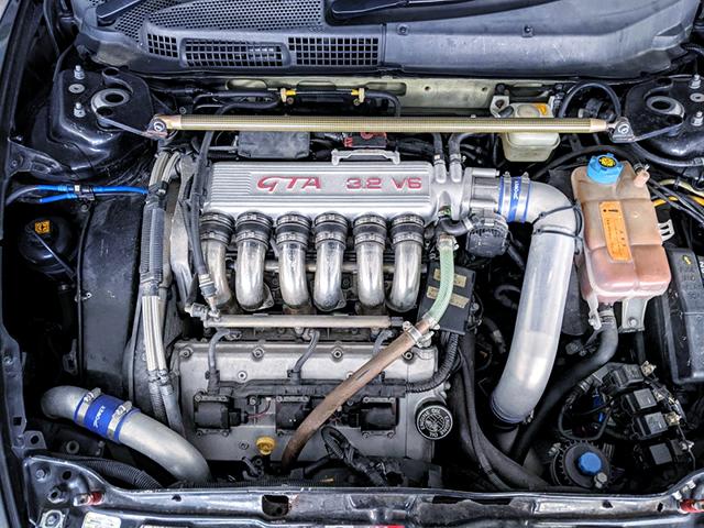 ROTREX SUPERCHARGED 3.2L V6 BUSSO ENGINE.