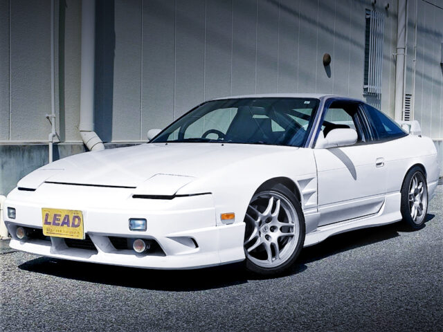 FRONT EXTERIOR of 180SX TYPE-S.
