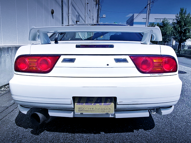 REAR TAIL LIGHT of 180SX TYPE-S.