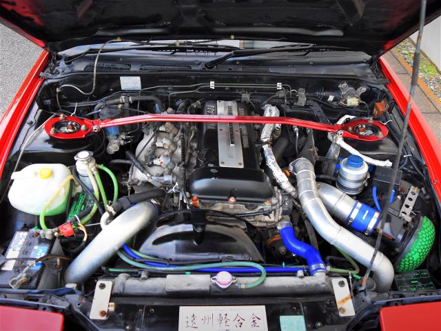 SR20DET TURBO ENGINE with T518Z TURBINE.