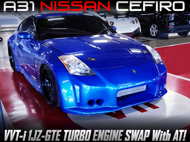 Z33 REPLICA LOOK and 1JZ TURBO SWAPPED A31 CEFIRO.