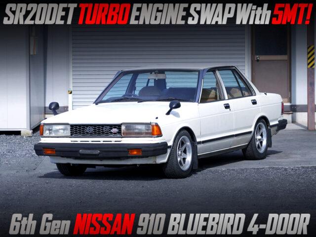 SR20DET TURBO ENGINE SWAPPED 910 BLUEBIRD.