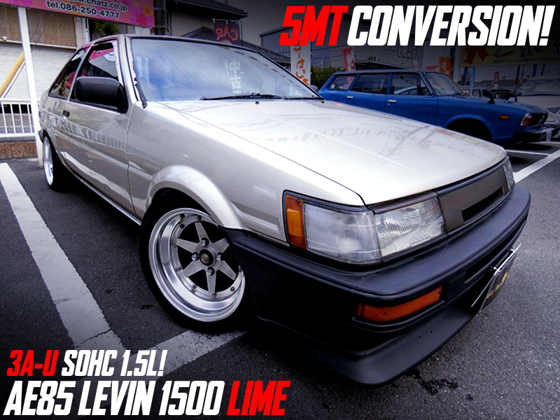 AE85 LEVIN 1500 LIME to 5MT CONVERSION.