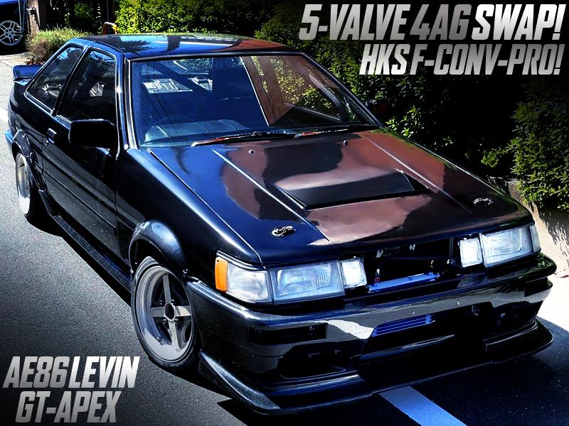 5-VALVE 4AGE SWAP With F-CON V-PRO ECU into AE86 LEVIN GT-APEX.