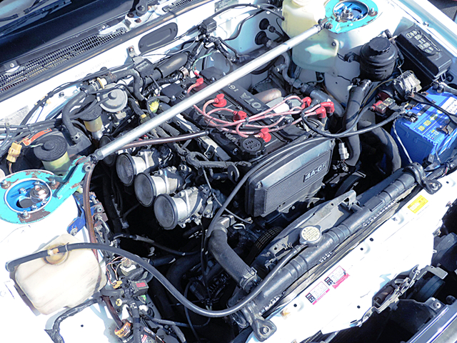 16V 4AGE ENGINE with QUAD THROTTLE BODY.
