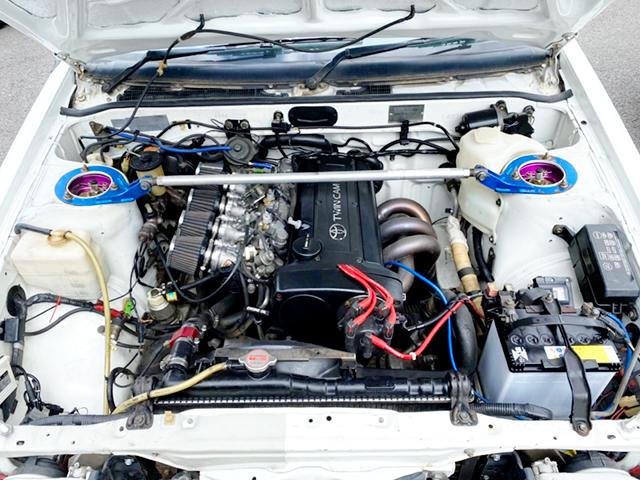 20-VALVE 4AGE ENGINE.