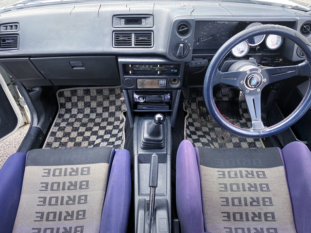 DASHBOARD of AE86 LEVIN N2 WIDEBODY.
