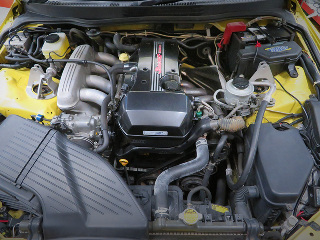 BEAMS 3S-GE ENGINE with TODA RACING 2.2L KIT.