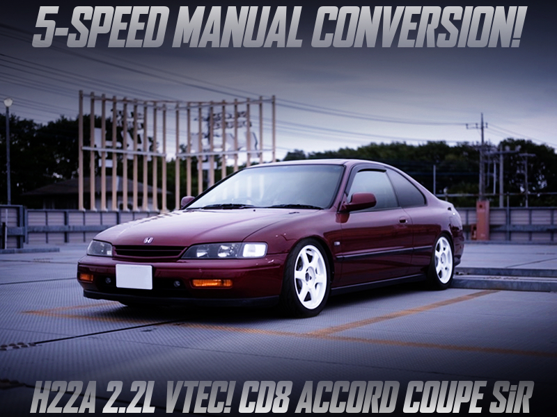 5-SPEED MANUAL CONVERSION of CD8 ACCORD COUPE SiR.