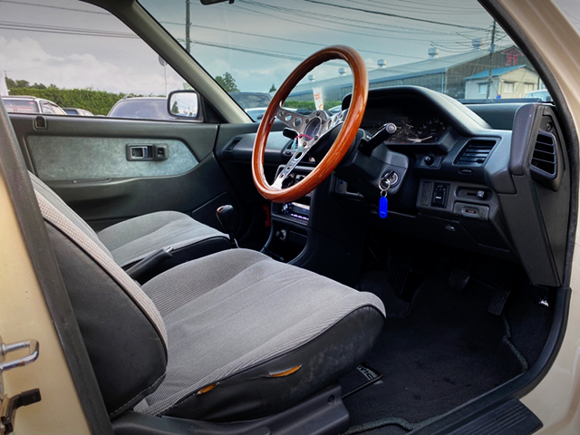 DRIVER'S DASHBOARD of EF2 GRAND CIVIC SEDAN 35XT.