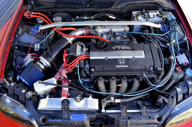 B16A VTEC ENGINE of EG6 CIVIC MOTOR.