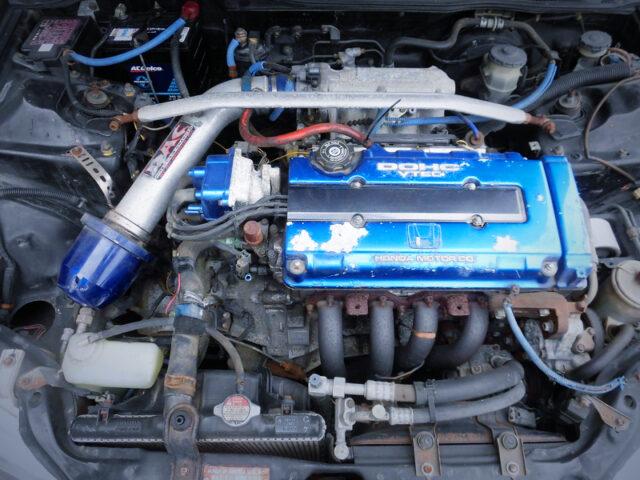 B18C 1.8L VTEC ENGINE.