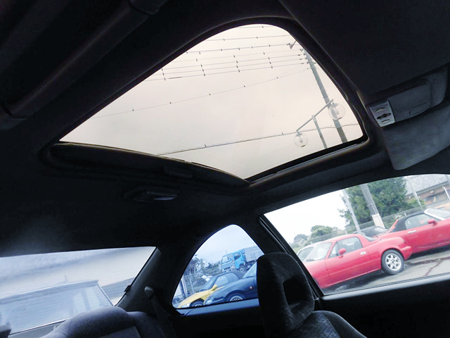 SUN ROOF of EJ1 CIVIC COUPE.