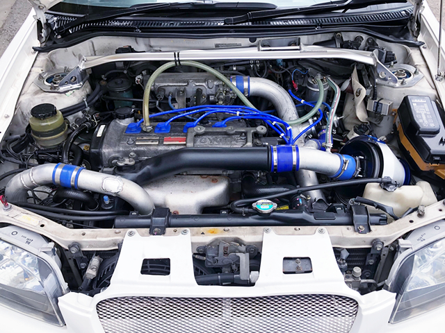 4E-FTE ENGINE with HIGH FLOW TURBO.