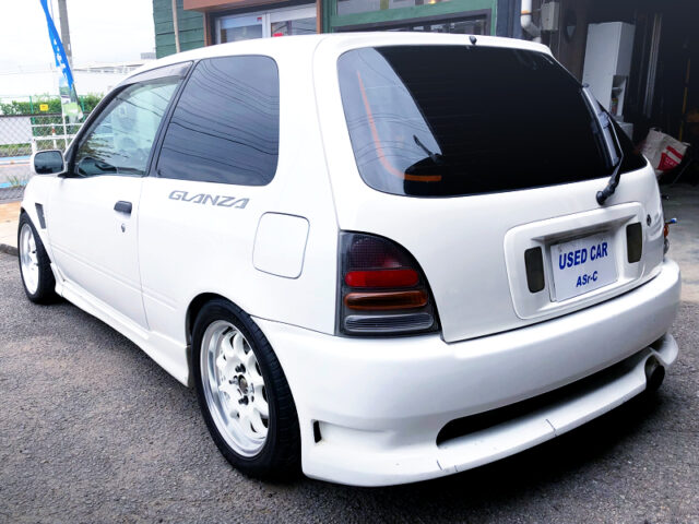 REAR EXTERIOR of EP91 STARLET GLANZA V.