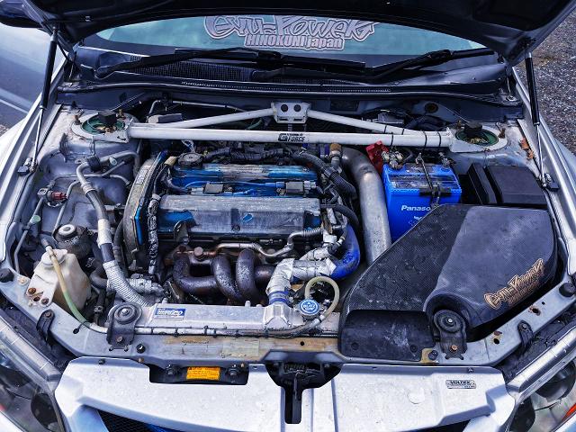 2.3L STROKED 4G63 TURBO ENGINE.