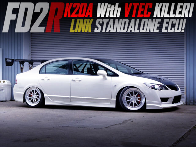 K20A with VTEC KILLER and LINK ECU into FD2 CIVIC TYPE-R.