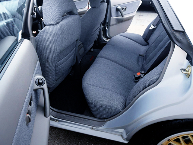 FRONT and REAR SEATS.