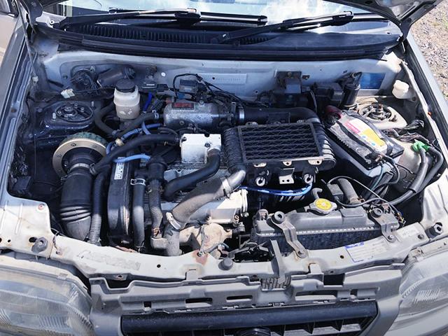 F6A TWIN CAM TURBO ENGINE.