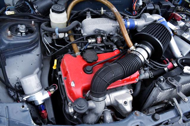 K6A TWINCAM TURBO ENGINE with HIGH FLOW TURBINE.