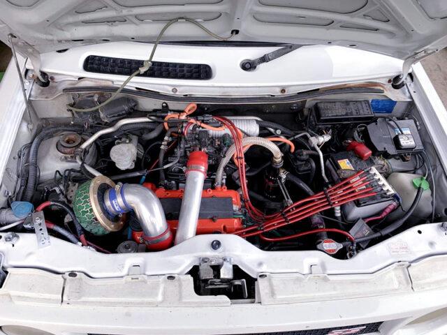 K6A TWINCAM TURBO ENGINE with HT07-4A TURBINE.