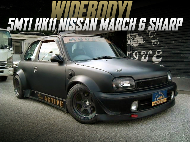 WIDEBODY of HK11 NISSAN MARCH G SHARP.