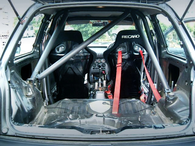 2-SEATER and ROLL CAGE.