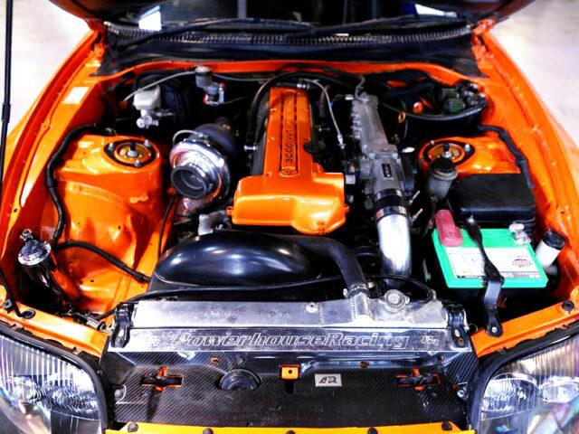 910HP PRECISION 6870 SINGLE TURBOCHARGED 2JZ-GTE.