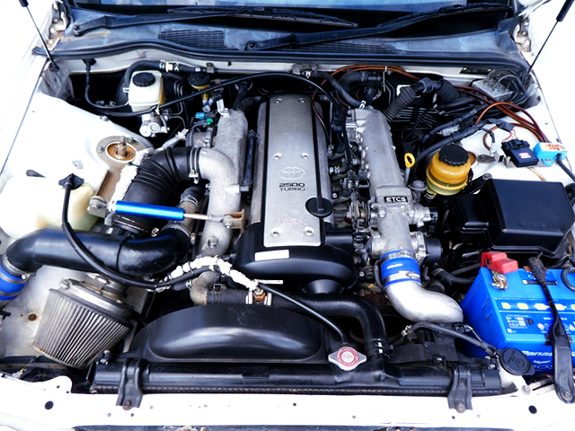 VVT-i 1JZ-GTE TURBO ENGINE.