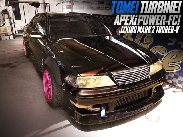 TOMEI TURBOCHARGED JZX100 MARK 2 TOURER-V.