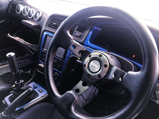 DASHBOARD and D1SPEC STEERING.