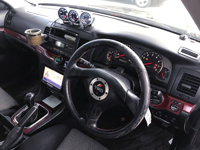 DRIVER'S DASHBOARD of JZX110 MARK 2.