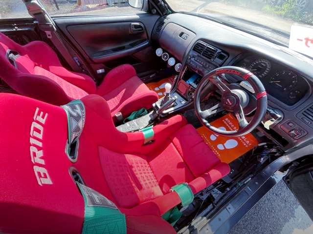 DRIVER'S DASHBOARD of JZX90 MARK 2 TOURER-V INTERIOR.