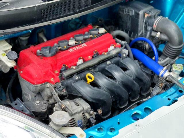 VVT-i 1NZ-FE 1500cc ENGINE into K13 MARCH ENGINE ROOM.