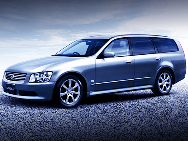 M35 NISSAN STAGEA CATALOG PICTURE.
