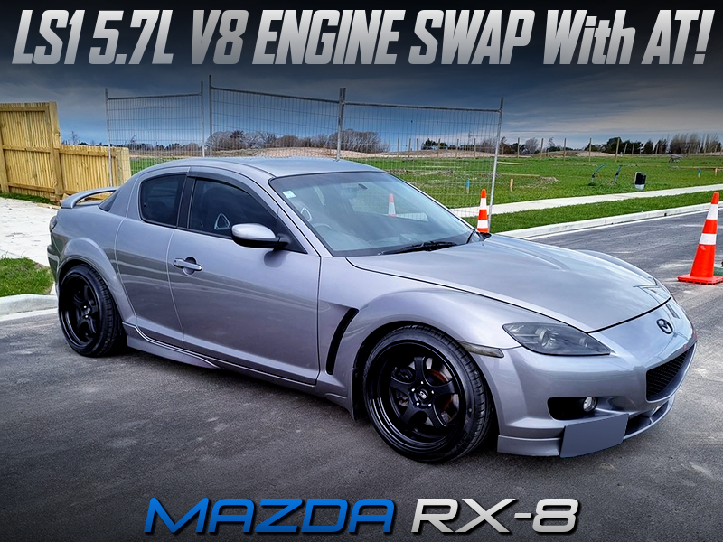 LS1 5700cc V8 SWAPPED MAZDA RX-8.