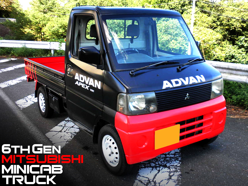 ADVAN RACING TWO-TONE PAINTED 6th Gen MINICAB TRUCK.