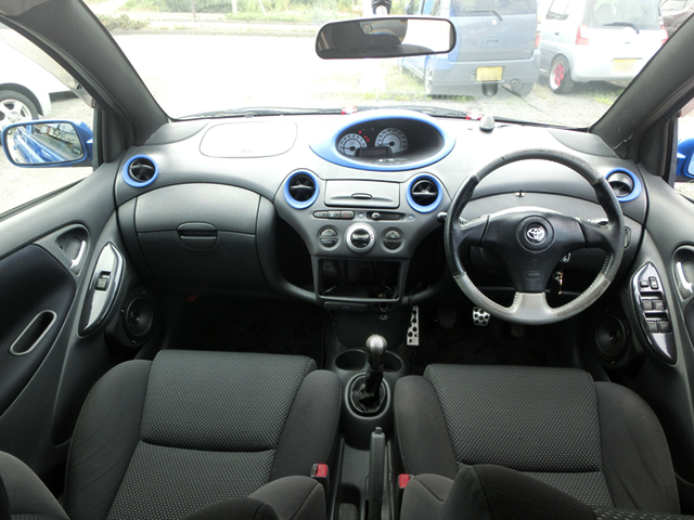 DASHBOARD of NCP13 VITZ RS.