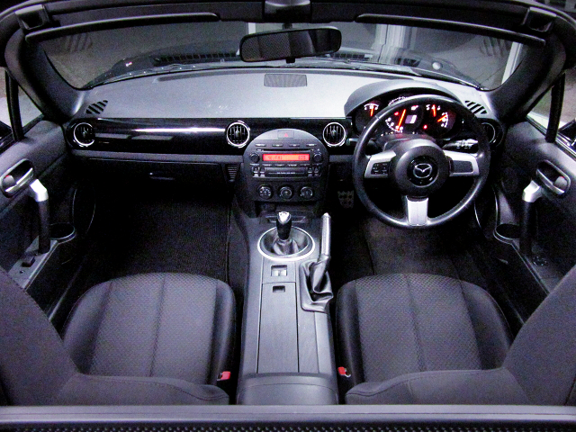 INTERIOR of NCEC ROADSTER RS.